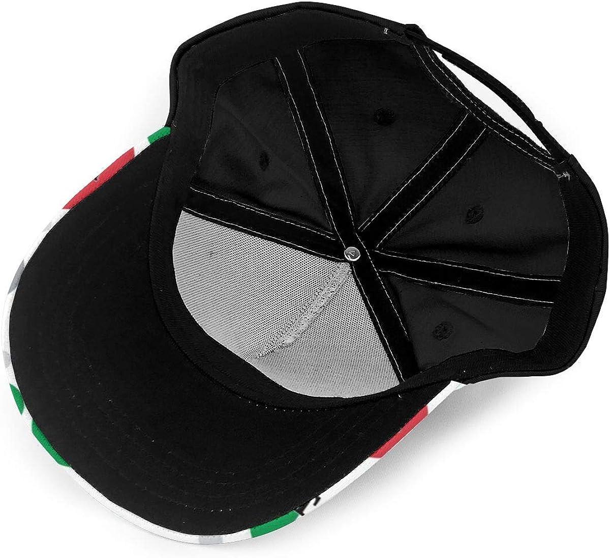 Classic Italia Italian Flag Classic Baseball Cap Men Women Dad Hat Twill Adjustable Size Black
