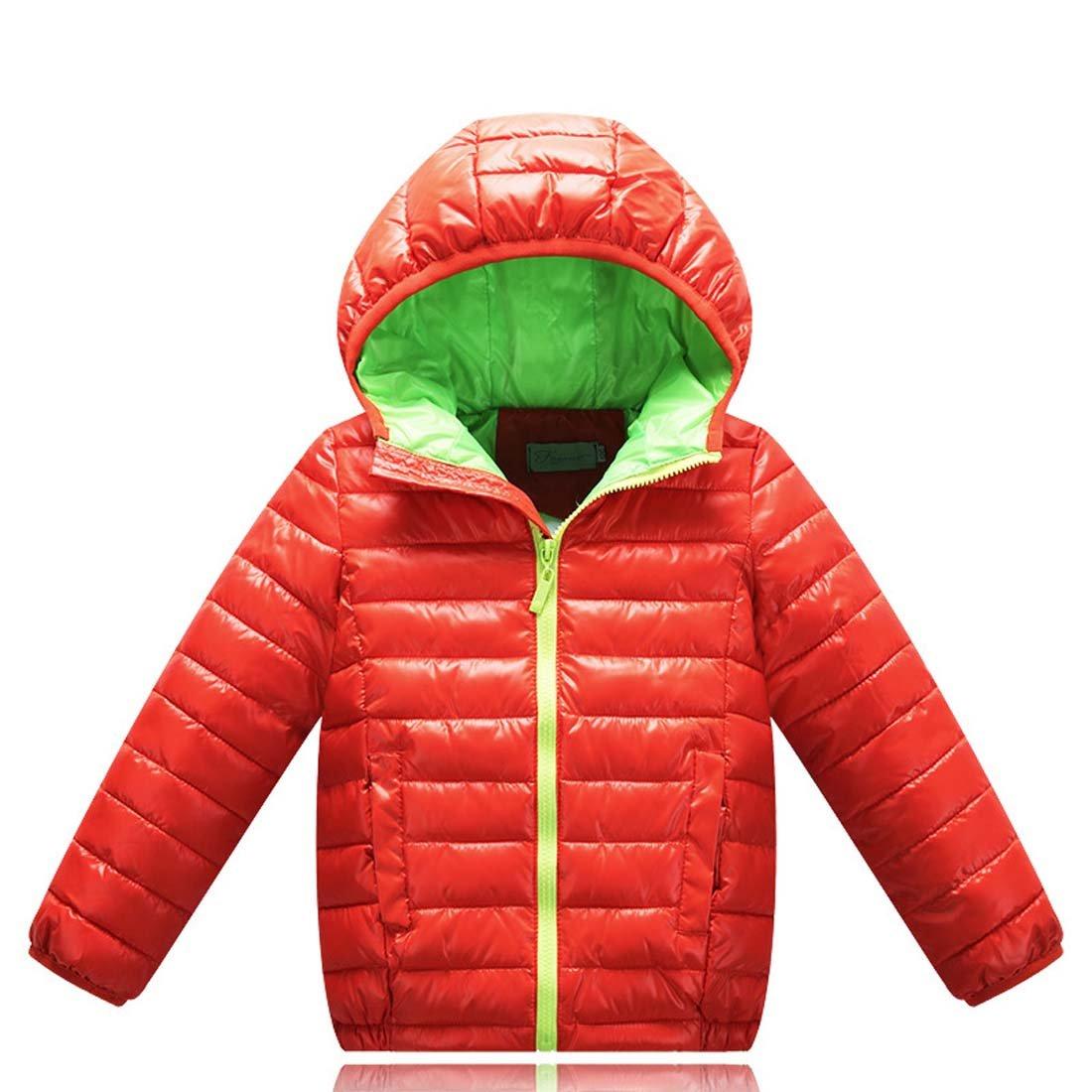b5b8daa12f8b WENJHEN Kids Boys Girls Duck Down Winter Coat Hooded Children Warm ...