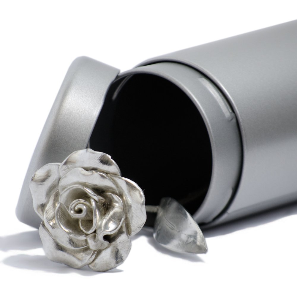 Valentines Day Gift For Her Everlasting Rose - Single Rose That Never Dies Like your Love, Valentines Gift Idea by PiranTin (Image #2)