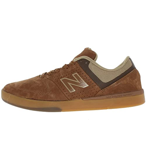 New Balance Sneakers Numeric Skateboarding Brown Leather / Mesh Marrone