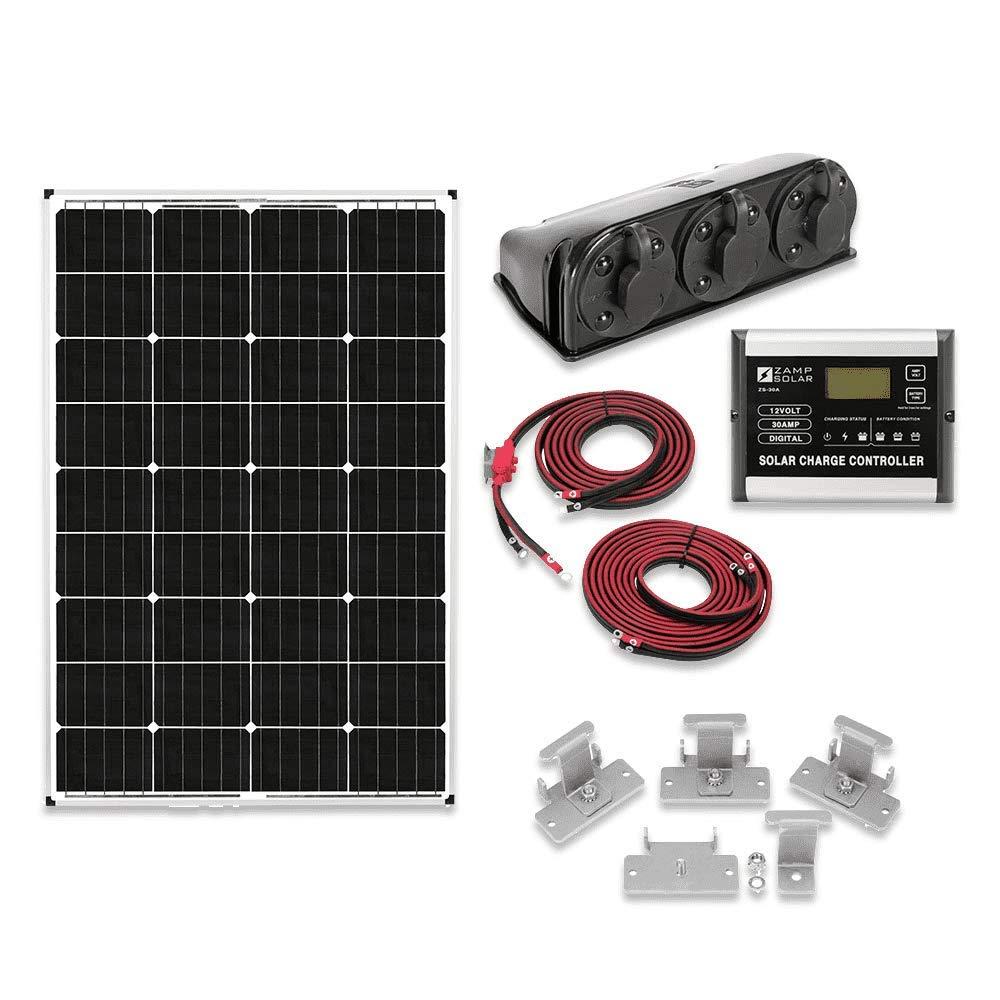 Zamp Solar Kit1003 115w Deluxe Solar Kit Solarima Com