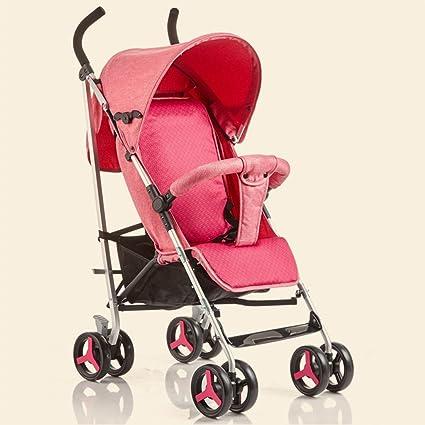 JIANXIN Carro De Bebé Paraguas De Aluminio Súper Ligero Plegable Y Amortiguador Puede Sentarse En El