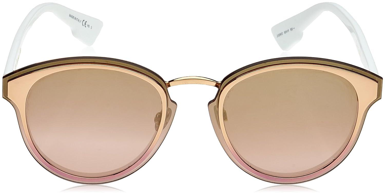 Christian Dior Nightfall 24S Gold White Nightfall Round Sunglasses Lens Categor