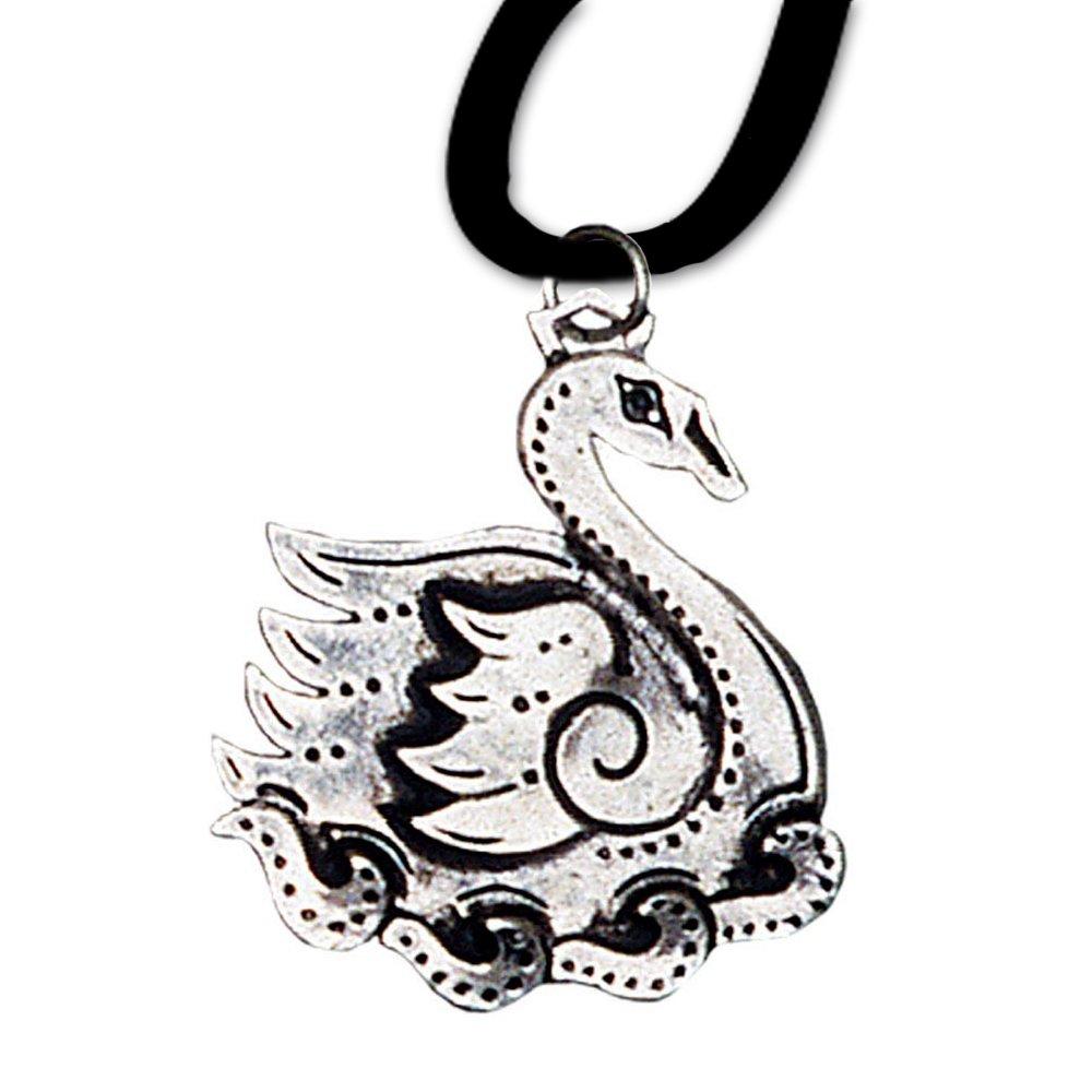 Alben Eiler Anhä nger Keltisches Sternzeichen (9. Mä rz - 31. Mä rz) 925er Silber Schmuck Amulett Anmut mit Lederhalsband 04 DarkDragon 6615547878449-BC04