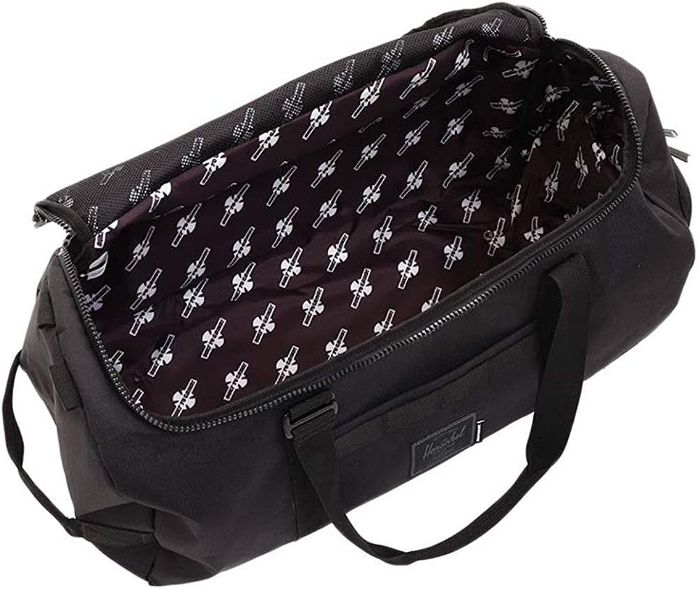 Herschel Independent Classic Unisex One Size Black Polyester Duffle/Bag