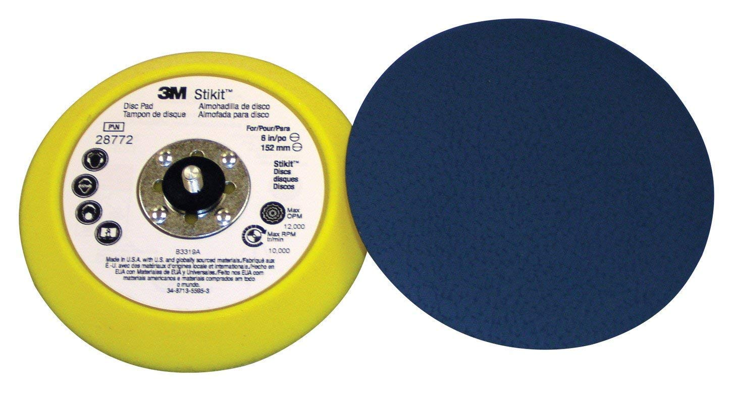 3M 051144055753 Stikit Disc Pad 05575, 5'' x 3/4'' x 5/16'' 24 External Thread (Pack of 10) by Cubitron