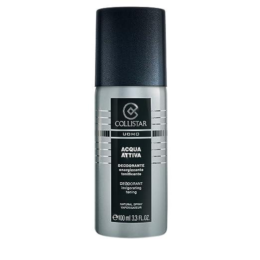 13 opinioni per Collistar Uomo Acqua Attiva Deodorante Spray 100 Ml