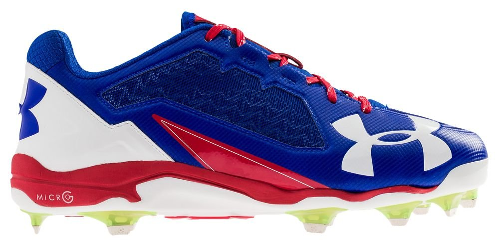 [アンダーアーマー] Under Armour Deception Low DT メンズ ベースボール [並行輸入品] B0725QLJWP US10.5|Royal/Red/White Royal/Red/White US10.5