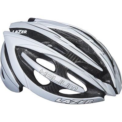Lazer Helium S Cycling Helmet Medium Black / White