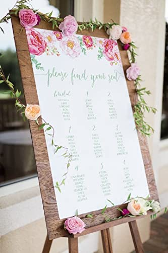 wedding seating chart downloadable file wedding decoration wedding seating sign wedding reception