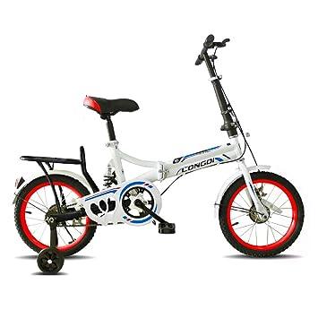 Brothers HouseYX Bicicleta Plegable para niños de Primaria ...