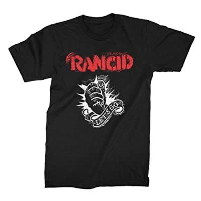 King's Road Rancid Men's Let's Go T-Shirt Black: Clothing