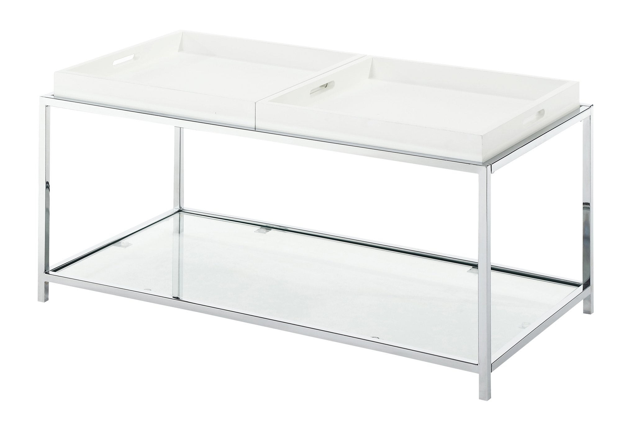 Convenience Concepts Palm Beach Coffee Table, White by Convenience Concepts