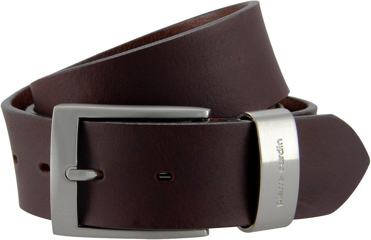 colore: nero o marrone Cintura in pelle 40 mm Pierre Cardin 70007