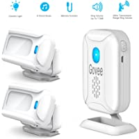 Govee Home Security Wireless Motion Detector Driveway Alarm Kit