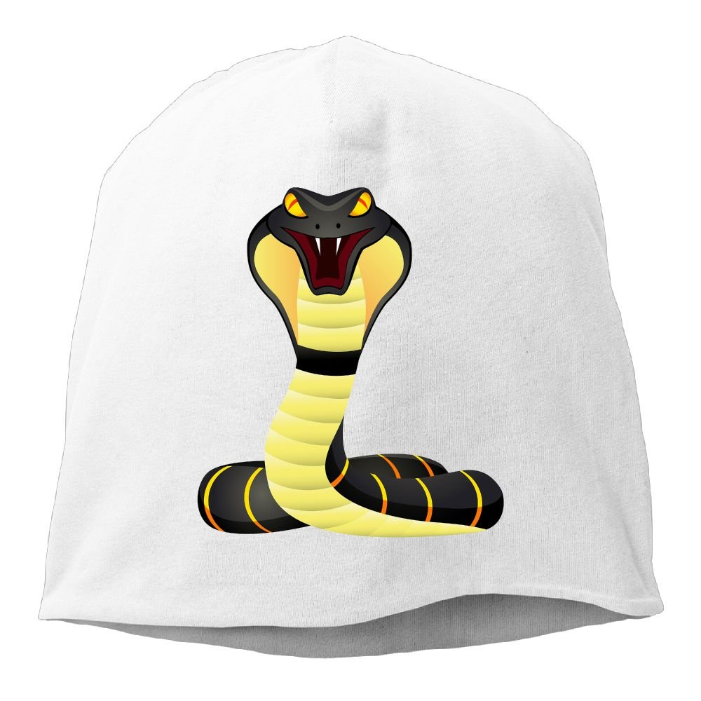 Fashion Solid Color King Cobra Snake Logo Headband for Unisex DeepHeather One Size
