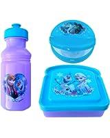 Disney Frozen 3-Piece Lunch Box Set