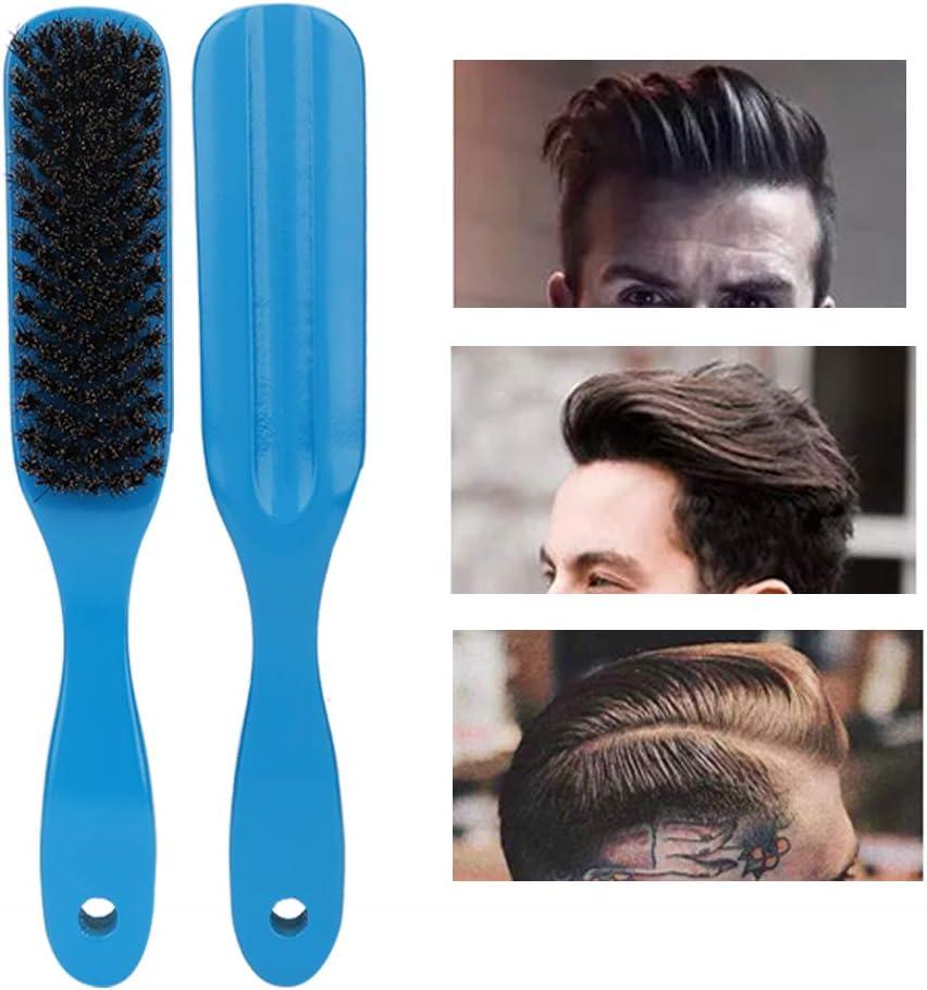 Nannday Cepillo de Barba, Cepillo de Peine de Barba para Hombres Cepillo de Cabeza de Aceite Peine de peluquería Herramientas para el Cuidado del Cabello Herramienta de Aseo (Blue)
