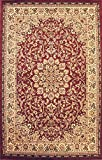 Rug Tycoon D603Burgundy2ft7inby14ft6inRECRN Area, 2'7″ x14'6 Rectangular Runner Review