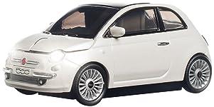 CLICK CAR MOUSE(クリックカーマウス) 無線マウス(電池式) Fiat 500(フィアット500) ホワイト 660486