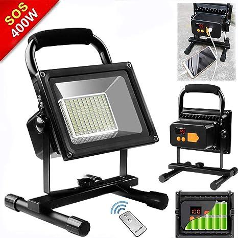 Foco LED Proyector, Focos LED Luces de trabajo 400W IP65 ...