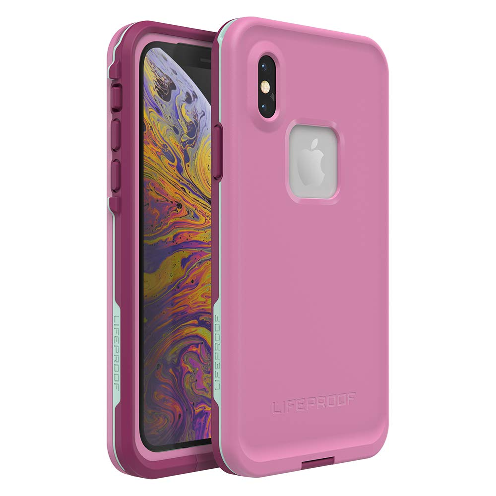 Lifeproof FRĒ SERIES Waterproof Case for iPhone Xs (ONLY) - Retail Packaging - FROST BITE (ORCHID/PURPLE WINE/FAIR AQUA)