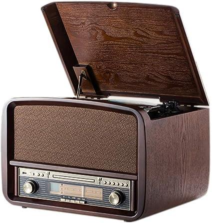Amazon.com: Rcm Vintage MC-255BT 6 en 1 reproductor de ...