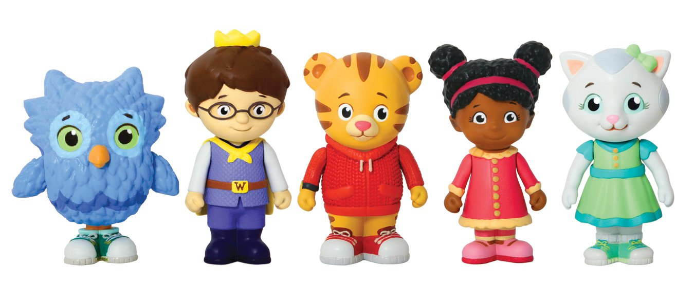 Daniel Tiger's Neighborhood Friends Family Figure (5 Pack) Jakks 97418