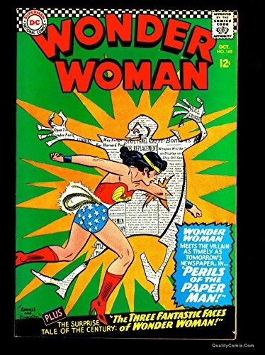 Wonder Woman #165 FN/VF 7.0
