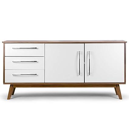 competitive price 39ee6 60c13 Amazon.com - Alva Scandinavian Style Sideboard Buffet Table ...