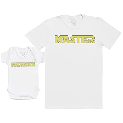 Master & Padawan - Ensemble Père Bébé Cadeau - Hommes T-shirt & Body bébé