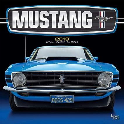 Calendario 2019 Mustang - Coche - Americaine + incluye un ...