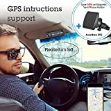 Avantree MULTIPOINT Bluetooth V4.0 Hands-Free Visor Car Kit, Support GPS, Music, Wireless in Car Handsfree Speakerphone Compatible with iPhone, Samsung Smartphones