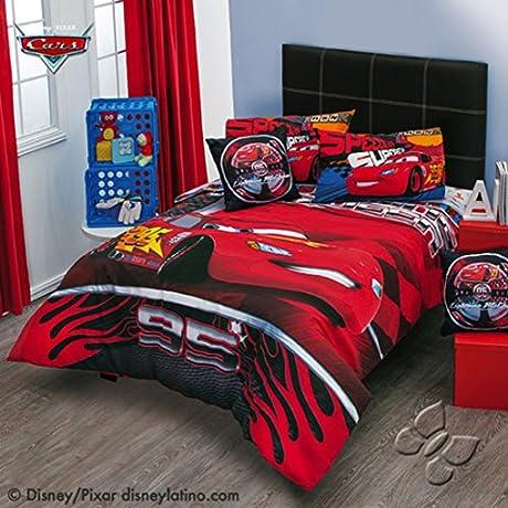 Disney Pixar Cars Speed 7 Piece Reversible Comforter Set Full
