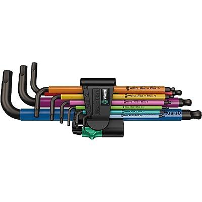 05073593001 950 Spkl/9 Sm N Multicolor L-Key Set, Metric, Blacklaser, 9 Pieces: Health & Personal Care