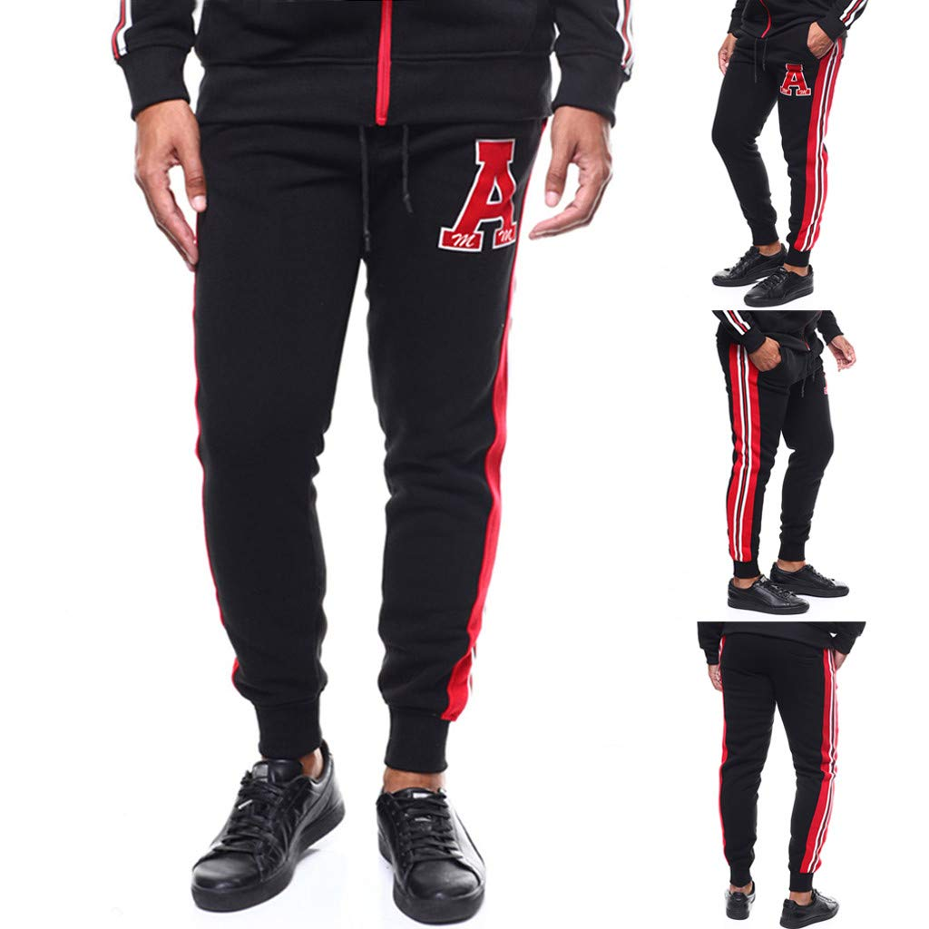 df7b73fd114 Homme Ceinture élastique à Long Coton Jogging Pantalons de survêtement Plus  la Taille Mode Sport Cargo Pantalons Shorts avec Poches Joggers Activewear  ...