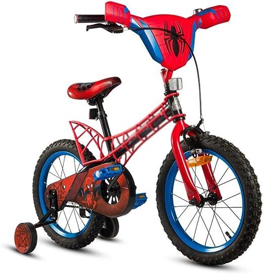 DYFYMXBicicleta niño Bicicleta de Pedal Bicicleta Infantil de montaña para niños, Bicicleta de montaña Color Negro, 12 Pulgadas con estabilizador y Canasta Ejercicio Seguro para niños y niñas.: Amazon.es: Hogar