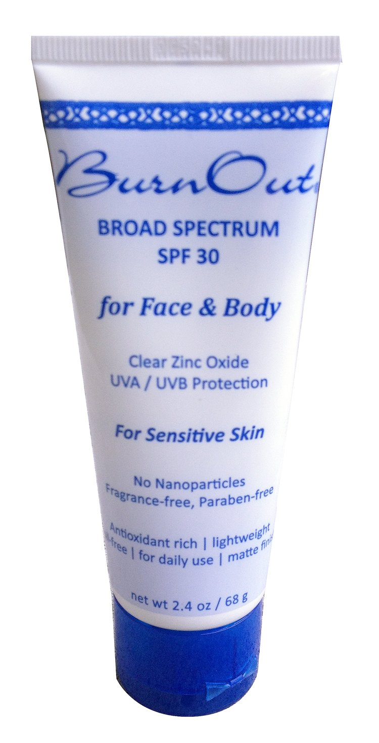 Burnout, Sunscreen Face And Body, 2.4 Ounce  Best Reef-safe Sunscreen