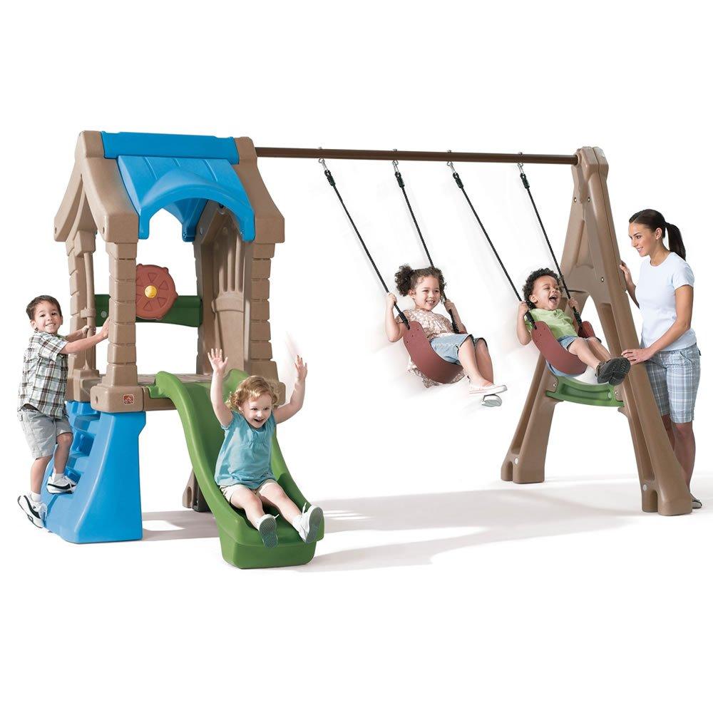 Amazon.com: Step2 Play Up Gym Set: Toys & Games
