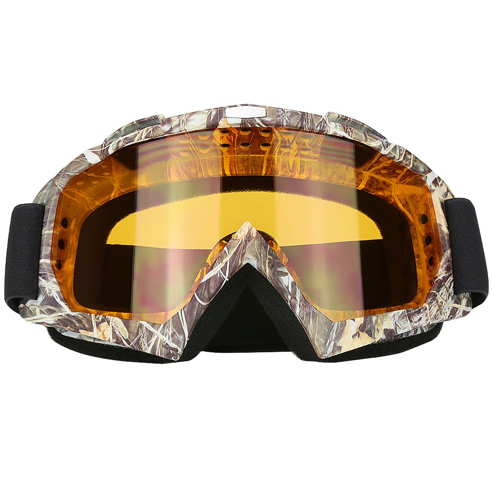 Motorcycle Motocross Dirt Bike ATV Goggles Mx OTG Goggle Glasses for Men Women Youth Kids (C83) by JAMIEWIN
