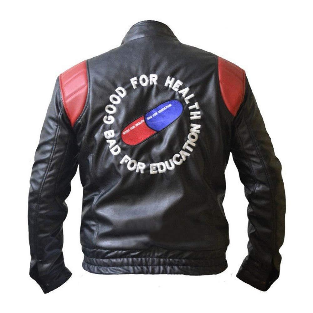 The Sparks Up Inc. Akira Kaneda Embroidered Capsule Biker Faux Leather Jacket