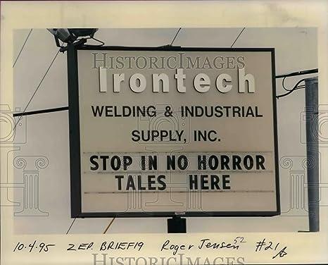 1995 prensa fotos irontech soldadura & suministro industrial, inc. señalización – orb47670