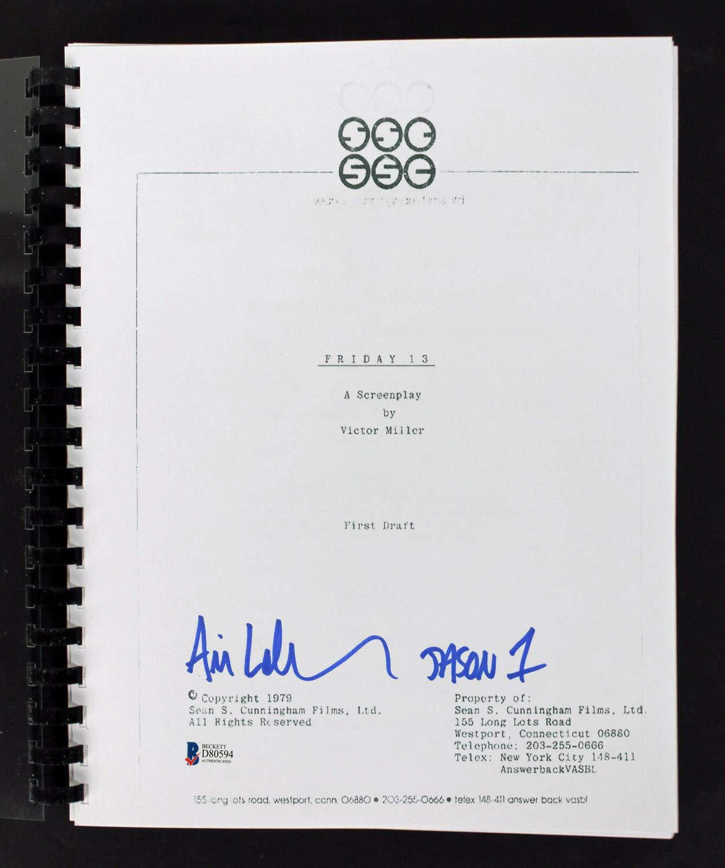 Amazon.com: Ari Lehman Jason 1 Authentic Autographed Signed ...