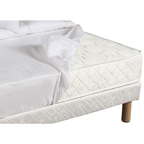 Revestimiento de colchones Moonilis blanco 100% algodón 27 cm 180 x 200