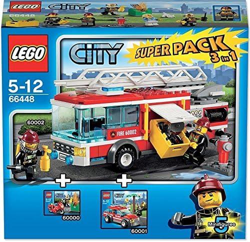 choisissez votre 5 Character Pack Lego City Minifigures Bundle pompiers et accessoires