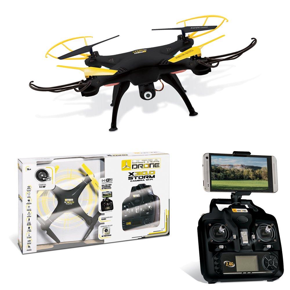 Mondo 63436 dron con cámara Cuadricóptero Negro, Amarillo 4 ...