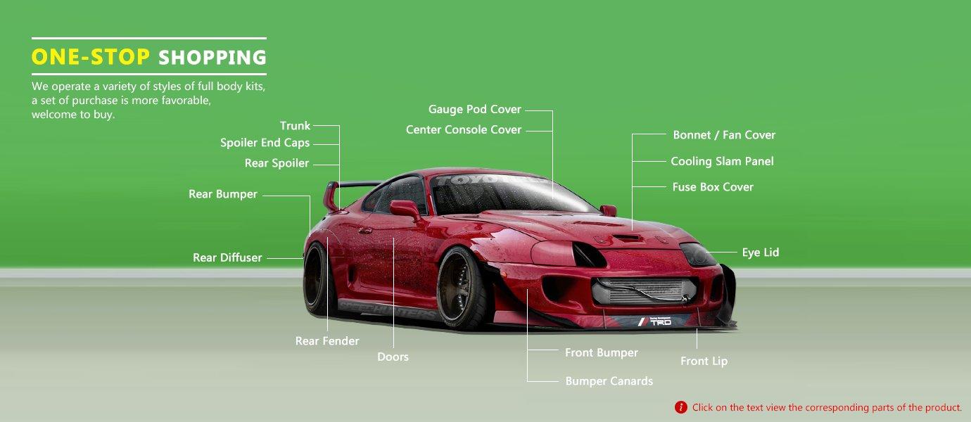 Carbon Fiber For Toyota Supra 1jz Engine Spark Plug Nissan Fuse Box Cover Automotive