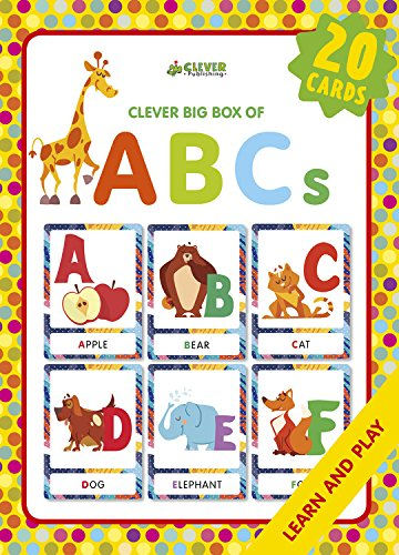 ABCs: Memory flash cards (Clever Big Box Of) (Abcs Memory Box)