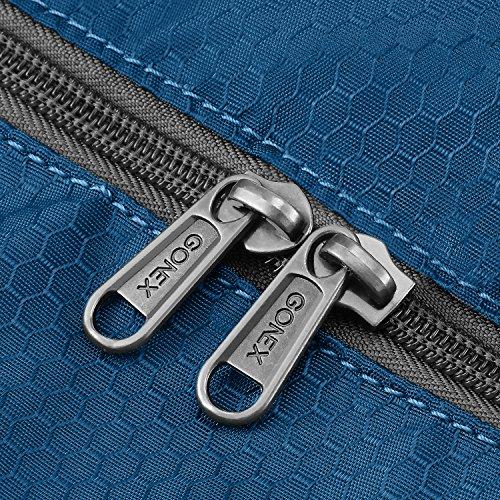 bc37c0a4ea Gonex 60L Foldable Travel Duffel Bag Water   Tear Resistant