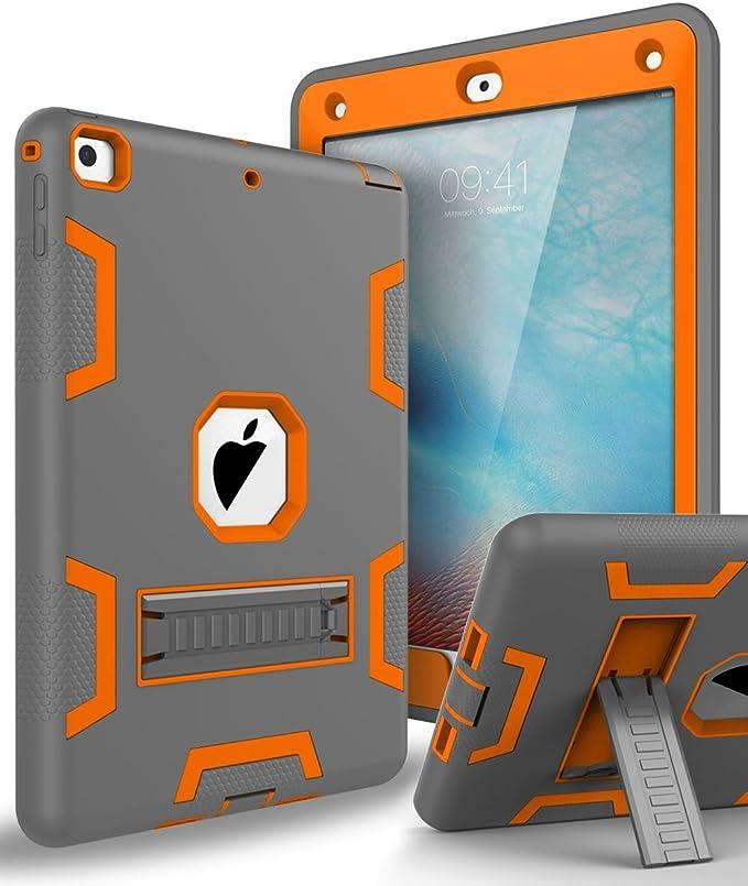 Ipad 2017 Ipad 9 7 Case Topsky Triple Layer Armor Defender Full Body Protective Case For Apple Ipad 9 7 2017 Release Elektronik